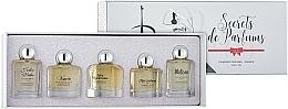 Voňavky, Parfémy, kozmetika Charrier Parfums Secrets De Parfums - Sada (edp/9.9ml+edp/10.5ml+edp/9.9ml+edp/9.9ml+edp/9.8ml)