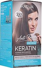 Voňavky, Parfémy, kozmetika Sada - Kativa Anti-Frizz Straightening Without Iron Xpert Repair