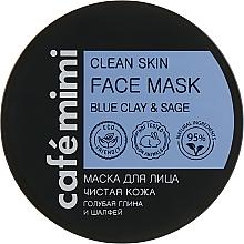 """Voňavky, Parfémy, kozmetika Maska na tvár """"Čistá pokožka"""" - Cafe Mimi Clean Skin Face Mask"""
