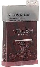 """Voňavky, Parfémy, kozmetika Sada na pedikúru """"Čokoládová láska"""" - Voesh Deluxe Pedicure Chocolate Love Pedi In A Box 4 in 1"""