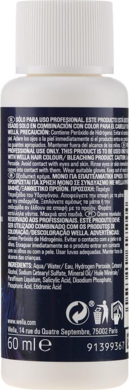 Oxidant - Wella Professionals Welloxon Perfect 6% — Obrázky N4