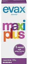 """Voňavky, Parfémy, kozmetika Vložky na denné použitie, """"Maxi Plus"""", 30ks - Evax Salvaslip"""