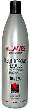 Voňavky, Parfémy, kozmetika Oxidačný krém - Allwaves Cream Hydrogen Peroxide 12%