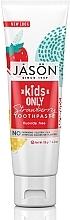 "Voňavky, Parfémy, kozmetika Detská zubná pasta ""Jahody"" - Jason Natural Cosmetics Kids Only Toothpaste Strawberry"