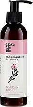 """Voňavky, Parfémy, kozmetika Čistiaci prostriedok na tvár """"Ruža"""" - Make Me Bio Garden Roses Face Cleanser"""