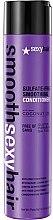Voňavky, Parfémy, kozmetika Kondicionér na lámavé vlasy - SexyHair SmoothSexyHair Anti-Frizz Conditioner