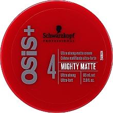 Voňavky, Parfémy, kozmetika Ultra silný krém na vlasy - Schwarzkopf Professional Osis+ Mighty Matte Cream