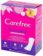 Voňavky, Parfémy, kozmetika Hygienické denné vložky, 46 ks - Carefree Plus Large Fresh Scent