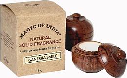 """Voňavky, Parfémy, kozmetika Prírodný krémový parfum """"Ganesha Smile"""" - Shamasa"""
