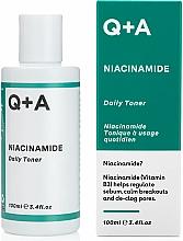 Voňavky, Parfémy, kozmetika Hydratačné tonikum na tvár - Q+A Niacinamide Daily Toner