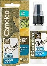 Voňavky, Parfémy, kozmetika Sérum na vlasy - Delia Cameleo Natural On Your Hair Aqua Action Serum