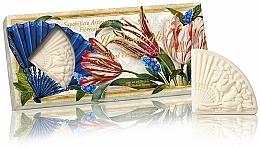 """Voňavky, Parfémy, kozmetika Sada prírodného mydla """"Kvetinová kytica"""" - Saponificio Artigianale Fiorentino Floral Bouquet Soap (3xsoap/100g)"""