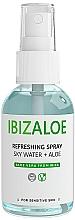 Voňavky, Parfémy, kozmetika Osviežujúca voda na telo i tvár - Ibizaloe Sky Water Aloe Vera