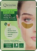 Voňavky, Parfémy, kozmetika Hydrogel náplasti proti starnutiu pre kontúry očí - Qiriness Wrap Yeux Hyal-Eclat Radiant Eye Patches