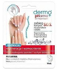 Voňavky, Parfémy, kozmetika Obnovujúci zábal na nechty - Dermo Pharma Skin Repair Expert S.O.S. Regenerating& Strengthening Fingernails Mask