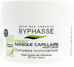 Voňavky, Parfémy, kozmetika Maska pre všetky typy vlasov - Byphasse Family Multivitamin Complexe Mask