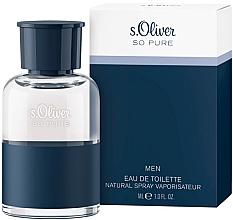 Voňavky, Parfémy, kozmetika S. Oliver So Pure Men - Toaletná voda