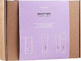 Voňavky, Parfémy, kozmetika Sada - Resibo Fresh Skin (accessories/1pcs + gel/125ml + cr/50ml)