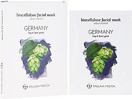 """Voňavky, Parfémy, kozmetika Textilná maska """"Nemecko"""" - Calluna Medica Germany Sebum Control Biocellulose Facial Mask"""