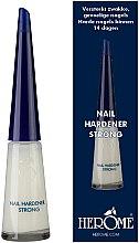 Voňavky, Parfémy, kozmetika Prostriedky na spevnenie nechtov - Herome Nail Hardener Strong