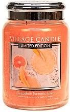 Vonná sviečka v nádobe - Village Candle Grapefruit Turmeric Tonic Glass Jar — Obrázky N2