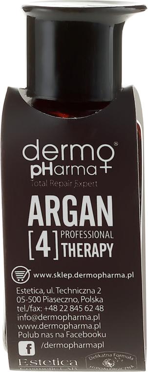 Multiaktívny sérum na vlasy ruky a nechty - Dermo Pharma Argan Professional 4 Therapy Multiactive Serum Hair Body Nail Argan