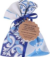 Voňavky, Parfémy, kozmetika Aromatické vrecúško, bielo-modré, levanduľa - Essencias De Portugal Tradition Charm Air Freshener