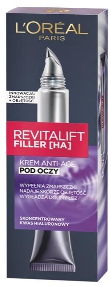 Krém-výplň okolo očí - L'Oreal Paris Revitalift Filler HA Anti-Age Eye Cream — Obrázky N1