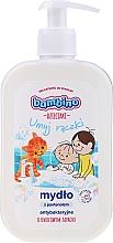 Voňavky, Parfémy, kozmetika Antibakteriálne mydlo na ruky s panthenolom a ovocnou vôňou - Bambino Family Antibacterial Soap