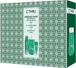 Voňavky, Parfémy, kozmetika C-Thru Emerald Shine - Sada (deo/150ml + deo/75ml + sh/gel/250ml)