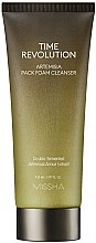 Voňavky, Parfémy, kozmetika Čistiaca penová maska proti starnutiu - Missha Time Revolution Artemisia Pack Foam Cleanser