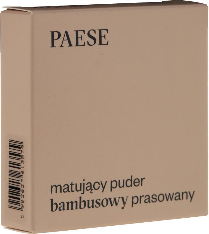 """Púder na tvár """"Matný"""" - Paese Powder Mate"""