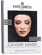 Voňavky, Parfémy, kozmetika Maska na tvár s extraktom z čierneho kaviáru - Patchness Caviar Mask