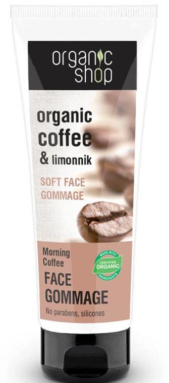 """Gommage tváre """"Ranná káva"""" - Organic Shop Gommage Face"""