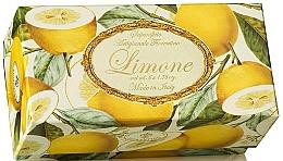 """Voňavky, Parfémy, kozmetika Sada toaletného mydla """"Lemon"""" - Saponificio Artigianale Fiorentino Lemon (Soap/6x50g)"""