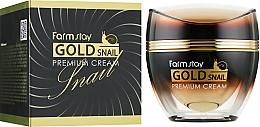 Voňavky, Parfémy, kozmetika Krém so zlatom a slimačím mucínom - FarmStay Gold Snail Premium Cream