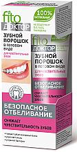 Voňavky, Parfémy, kozmetika Hotový zubný prášok pre citlivé zuby - Fito Kosmetik