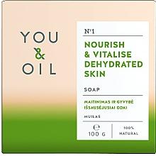 Voňavky, Parfémy, kozmetika Výživné mydlo pre dehydratovanú pokožku - You & Oil Nourishing Soap for Dehydrated Skin