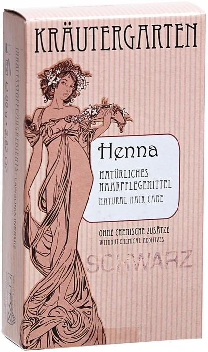 Henna, čierny prášok - Styx Naturcosmetic Henna Schwarz — Obrázky N1