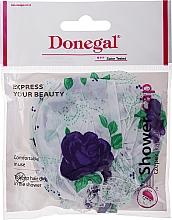 Voňavky, Parfémy, kozmetika Sprchová čiapka, 9298, modré ruže   - Donegal Shower Cap