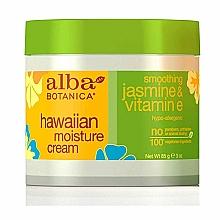 Voňavky, Parfémy, kozmetika Hydratačný krém na tvár s vitamínom E a jazmínom - Alba Botanica Natural Hawaiian Moisture Cream Smoothing Jasmine & Vitamin E