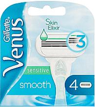 Voňavky, Parfémy, kozmetika Vymeniteľné kazety na holenie - Gillette Venus Smooth Sensitive