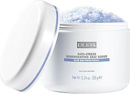 Voňavky, Parfémy, kozmetika Regeneračný soľný peeling antistresový - Pupa Home Spa Salt Scrub