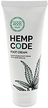 Voňavky, Parfémy, kozmetika Hydratačný krém na nohy s konopným olejom pre suchú a normálnu pleť - Good Mood Hemp Code Foot Cream