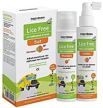 Voňavky, Parfémy, kozmetika Sada - Frezyderm Lice Free Set (sh/125ml + h/lot/125ml)