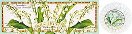 """Voňavky, Parfémy, kozmetika Sada mydla """"Konvalinka"""" - Saponificio Artigianale Fiorentino Lily Of The Valley Soap"""