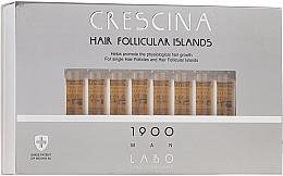 Voňavky, Parfémy, kozmetika Pánsky lotion na stimuláciu rastu vlasov - Crescina Hair Follicular Islands Re-Growth 1900