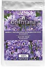 """Voňavky, Parfémy, kozmetika Maska pre pleť okolo očí """"Rozmarín"""" - Orientana Eye Silk Pad Rosemary"""