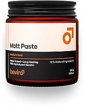 Voňavky, Parfémy, kozmetika Pasta na vlasy - Beviro Matt Paste Medium Hold
