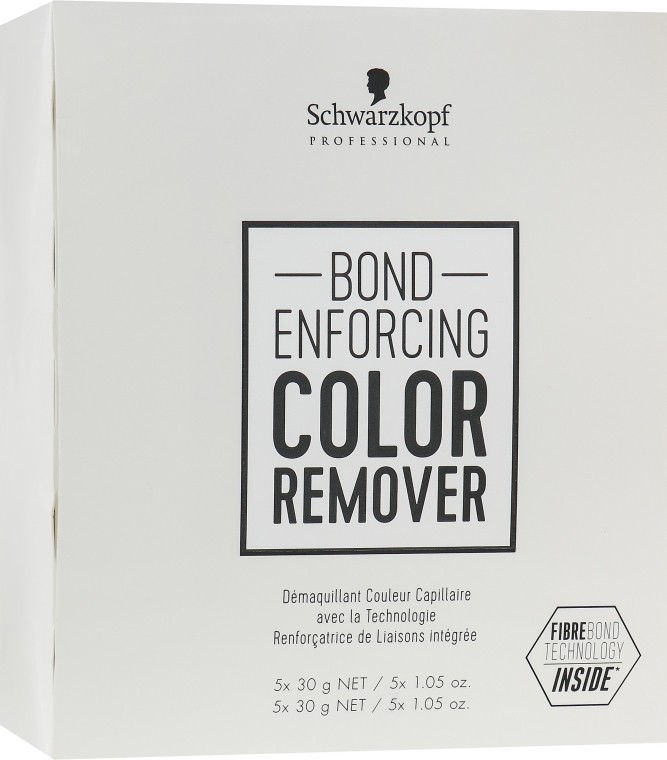 Prostriedok na odstránenie umelého pigmentu z vlasov - Schwarzkopf Professional Bond Enforcing Color Remover